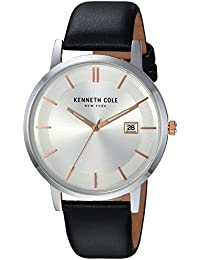 6b478e042b6 Kenneth Cole New York Men s Analog-Quartz Watch with Leather Strap  KC15202001