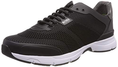 BOSS Herren Velocity_Runn_RB Sneaker, Schwarz (Black 001), 43 EU