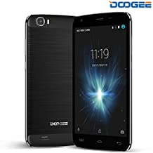 Moviles Libres Baratos, DOOGEE T6 Pro Telefonos Moviles Libres - Dual SIM Libre Desbloqueado - 6250mah 5.5 HD Pantalla - Android 6.0 - 3GB RAM + 32 GB ROM - 13MP+5MP Cámara (Negro)