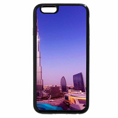 iPhone 6S / iPhone 6 Case (Black) world tallest tower burj khalifa in dubai
