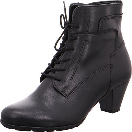 Gabor Damen Stiefeletten - Schwarz Schuhe in Übergrößen, Größe:42