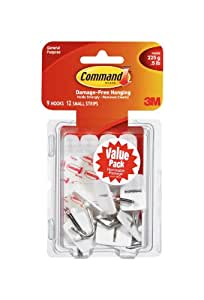 Command Small Kitchen Utensils Wire Hooks Value Pack (17067-VP)