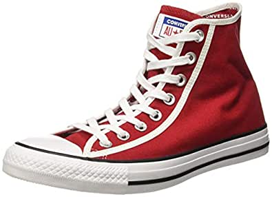 Converse Unisex's Gym Red/White/Black Sneakers-9 UK/India (42.5 EU) (8907788163571)