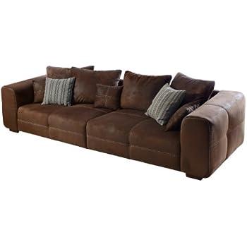 design big sofa provence landhauslook mit vintagecharakter gro e sitzfl che armlehnen aus. Black Bedroom Furniture Sets. Home Design Ideas