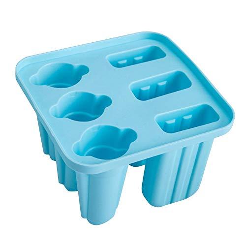 rebirthesame 6 Auch Silikon Stick Eisform EIS am Stiel Eiswürfelform EIS am Stiel Eisform Maker Set für Kinder Erwachsene Beste für Party Indoor Outdoor
