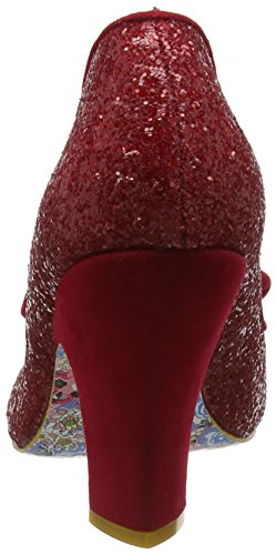 Choix Irrégulier Nick Of Time, Scarpe Col Tacco Donna Rouge (rouge Glitter)