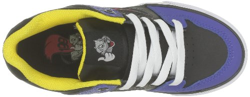 DC Shoes PURE TP D0320308A/B, Sneaker ragazzo Nero (Schwarz (BPD BLK/PLD))
