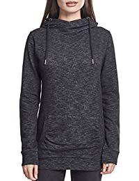 9fed819c5c5 Urban Classics Ladies Slub Terry High Neck Hoody Sweat-Shirt À Capuche Femme