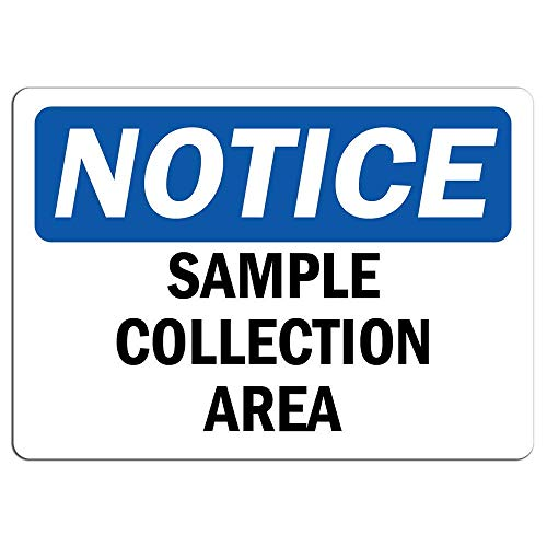 YASMINE HANCOCK Notice Sign Sample Collection Area Sign Metal Plaque Tin Sign Poster Metall Plaque Zinn Logo Poster Wand Kunst Cafe Club Bar Wohnkultur -
