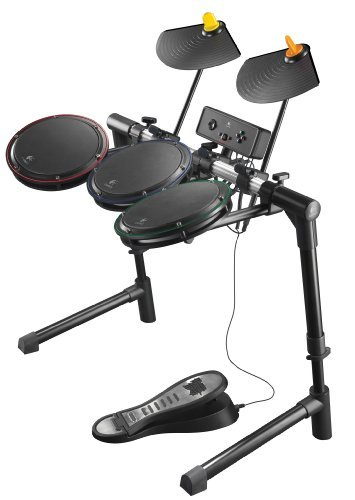 Logitech Ps3/Ps2 Wireless Drum Controller by Guitar Hero (Ps3 Wireless Guitar)