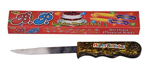 Indigo Creatives Happy Birthday Tune Singing Musical Cake Knife
