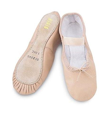 (S0209G) Bloch Arise Ballet Shoe Pink Child 13 B