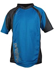 POLARIS Wanderer Top Junior, Azul/Gris, L