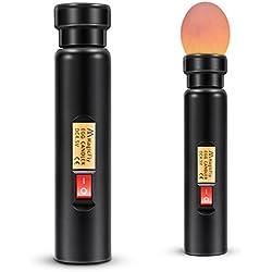 Magicfly Mire œuf LED à haute intensité lumière Cool, Egg Candler Candling Lampe pour Vérifier l'incubation d'oeuf Valailles avec une boîte de pile