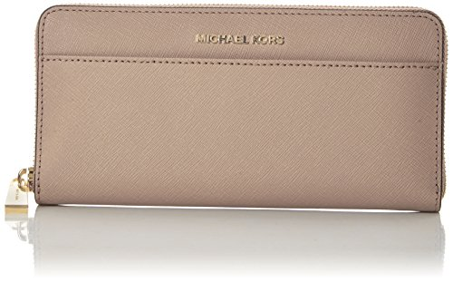 Michael Kors Damen Jet Set Geldbörse, (Soft Pink), 2.5x10.2x20.3 Centimeters