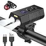 Nestling-Luce-LED-per-Bici1800-Lumens-Luci-per-Bicicletta-USB-Ricaricabili-con-Luce-ausiliaria-Impermeabile-Luci-per-Bicicletta-Luce-Bici-per-Bici-Strada-e-Montagna-5-modalit