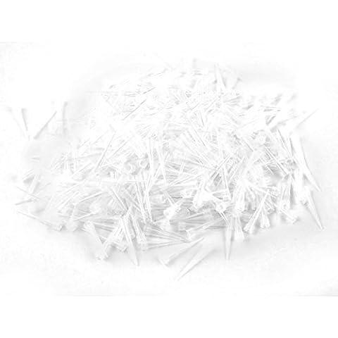 Desechable Bellas punta de la micropipeta de pipeta 10 ul pipettor Tipes 1000 PC