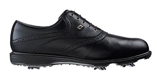 Foot-joy hydrolite 2.0, scarpe da golf uomo, color nero (black/black tumbled), talla 44