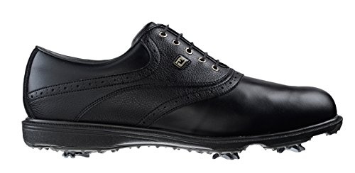 Foot-joy - Hydrolite 2.0, Scarpe da golf Uomo Nero (Black/Black Tumbled)