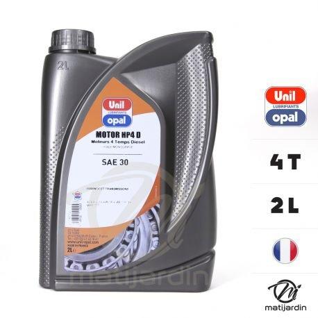 huile-moteur-4-temps-unil-opal-hp4d-sae30-2-litres