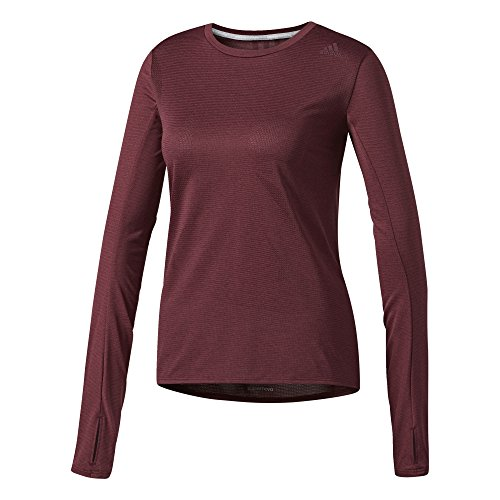 Adidas Sn ls t w Shirt, Damen S Rot (Granat) (Shirt Damen Granat)