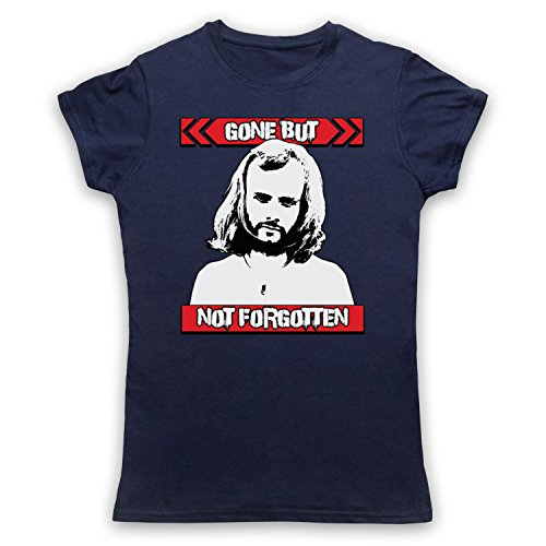John Peel Gone But Not Forgotten Damen T-Shirt Ultramarinblau
