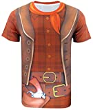 Cosavorock Mens Halloween Party Costumes T-Shirts