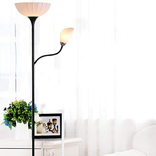 lyf Einfache LED-Bodenlampe Moderne Acryl-Lotus-Lampe Schatten Wohnzimmer Schlafzimmer Couchtisch Beleuchtung Bodenlampe - Lotus Schatten