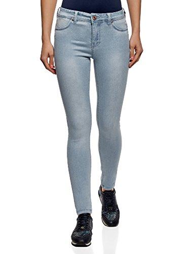 oodji Ultra Donna Jeans Skinny Tessuto Morbido