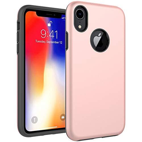 iPhone 4S Fall, iPhone 4Fall, Hybrid-Dual-Layer Schutzhülle Harte Kunststoff und Soft Silikon mit stoßfest Case Cover für iPhone 4S 44G violett