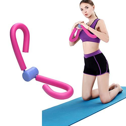 COVVY Thigh Master - Tóner de Muslo para ejercitar Muslos, piernas, Brazos, Pecho, Culturismo, pérdida de Peso, Equipo de Entrenamiento para el Gimnasio en casa (Rosado)