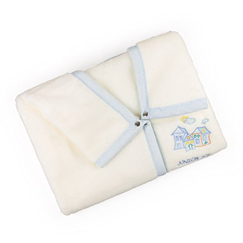 Junior Joy 6183BL Junior Joy Stickerei Agnes Baby-Verpackung, blau