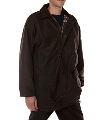 Hunter Outdoor Boulton Mens / Womens Wax Jacket - X-Small - Brown
