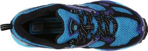 Brooks Cascadia 6 W, Damen Sneaker Blau (aquarius/kobalt/schwarz/silber)