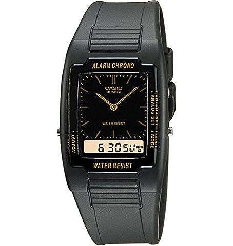 Casio Herren-Armbanduhr Analog - Digital Quarz Kautschuk AQ-47-1EMQ