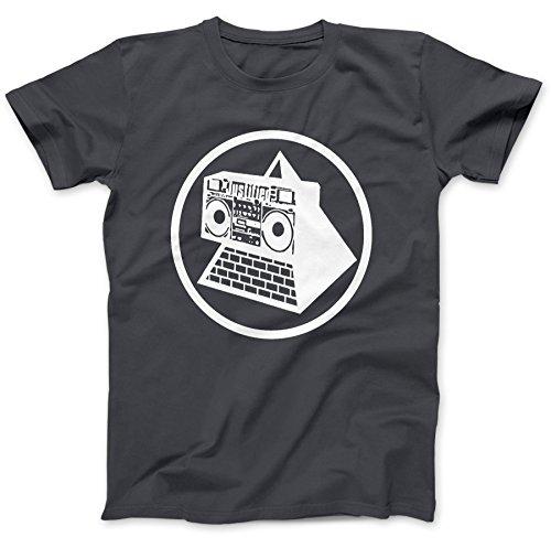 Men's Pyramid Blaster T-Shirt 100% Premium Cotton - Choice of Colours - S to XXL