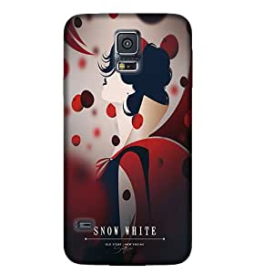 Samsung New S5 Colourful Graphic & Illustration Phone Back coverGI16