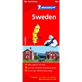 Sweden NATIONAL Map (Michelin National Maps)