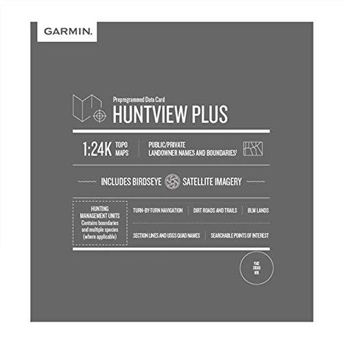 Garmin Huntview Plus vorinstallierte microSD-Karten mit Jagdmanagement-Einheiten für Garmin Handheld GPS-Geräte, Michigan