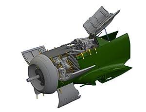 Eduard EDB648464 - Kit de Motor y Pistolas (latón, 1:48-Fw190A-8)