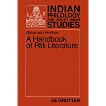 A Handbook of Pali Literature