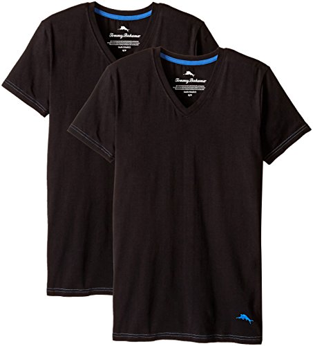 tommy-bahama-mens-2-pack-stretch-cotton-comfort-solid-v-neck-t-shirt-black-medium