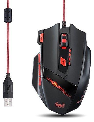 Z ¨ ¦ LOTE T909200dpi 8Tasten USB optische kabelgebundene Maus-Profi-Gaming Maus für Notebooks von Büro