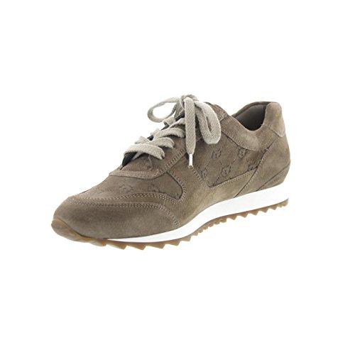 Hassia Barcelona, Sneaker, Hassiavelour-Leder, cashmere 301925-1400 Cashmere (dunkelbeige)