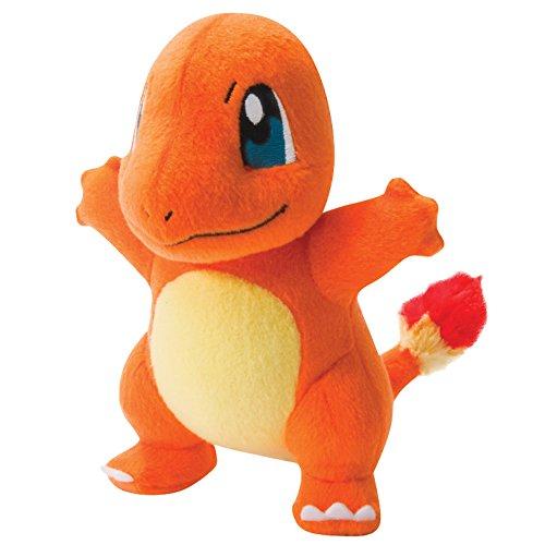 "Pokemon T18536CHARMANDERNEW ""Charmander"" Plush Toy, 20 cm"