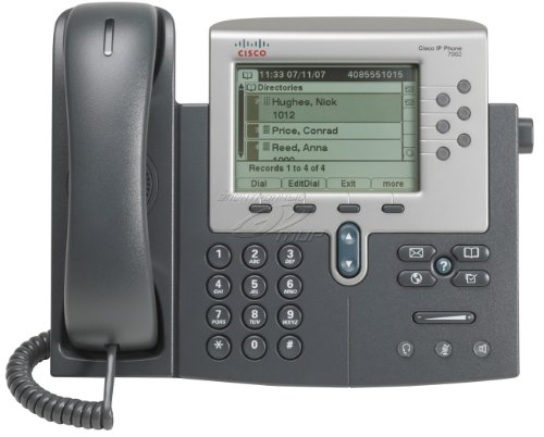 Cisco CP-7962G-CH1 Unified IP Telefon silber/dunkelgrau
