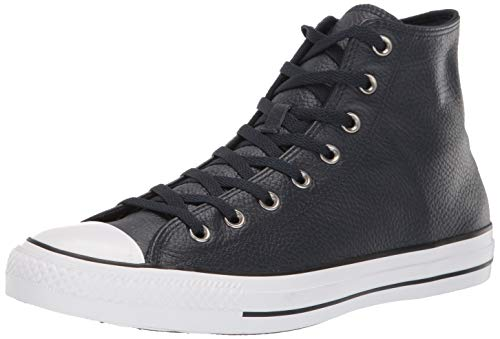 Converse Chuck Taylor All Star Leather Hi Chaussures Dark Obsidian
