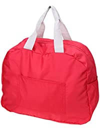 Rose Red : Demiawaking Travel Bag Carry On Duffel Luggage Tote Bags Waterproof Weekend Overnight Bag Make Up Toiletries...