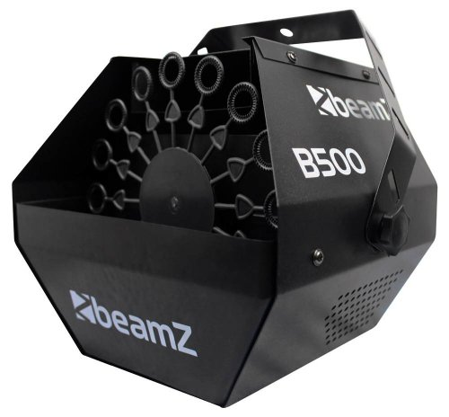 Beamz B500 SEIFENBLASENMASCHINE Test