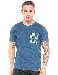G-STAR Herren T-Shirt Blau Indigo